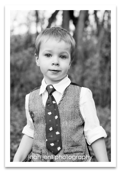 toddler boy b&w