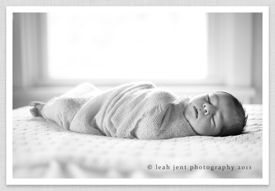 newborn girl backlight