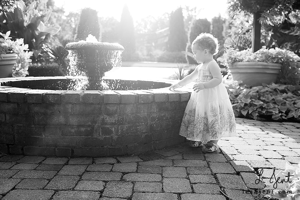 Dayton Baby Photographer | Secret Garden