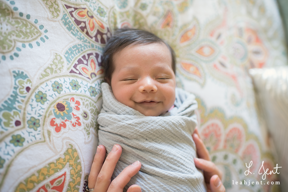 Dayton Lifestyle Newborn Photographer | Boy Oh Boy